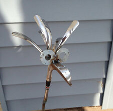 Golf Driver/Iron Bird Garden sculpture Yard Art Metal