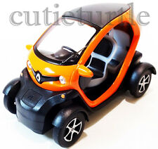 Kinsfun Renault Twizy 1:18 Diecast Toy Car Pull Back action Orange