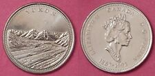Brilliant Uncirculated 1992 Canada Yukon 25 Cents From Mint's Roll