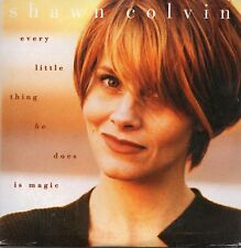 CD Single Shawn COLVIN Every Little Thing He Does Is Magic 2-track CARD SLEEVE +