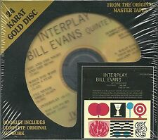 Evans, Bill Quintet Interplay DCC GOLD CD NEU OVP Sealed GZS-1102
