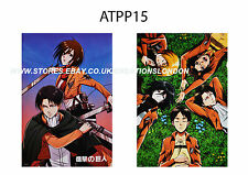 "2 x A3 Size Posters 16.5"" x 11.5""Attack on Titan/Mikasa,Eren Yeager,Levi(ATPP15)"