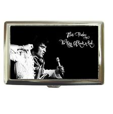 ELVIS PRESLEY KING OF ROCK AND ROLL Cigarette Case Credit Card Holder #87565248