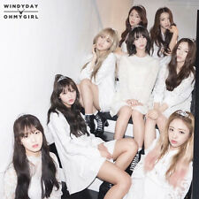 OH MY GIRL-[WINDY DAY] 3rd Mini Album REPACKAGE CD+POSTER+60p Photo Book+2p Card