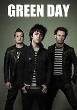 Green Day brillante Poster Print A4 260gsm