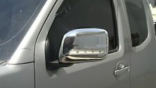 MIRROR COVER WITH LED LIGHT CHROME OR PAINTED FOR NISSAN NAVARA D40 2005 - 2013