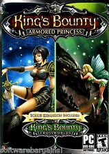 KINGS BOUNTY ARMORED PRINCESS & KINGS BOUNTY CROSSWORLDS EXPANSION FREE SHIPPING