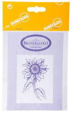 Vorlagenbogen für Brandmalerei Zeichenvorlage DIN-A3 doppelseitig - Blumenmotive