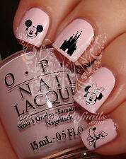 NAIL ART DISNEY MINNIE MICKEY MOUSE WATER DECALS TRANSFERS DECORACION DE UÑAS