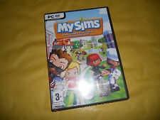 PC GAME-MY SIMS-EA-SIGILLATO-Computer-Gioco-Games-ITA