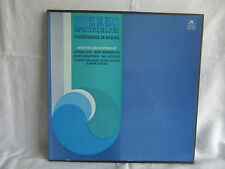 STEREO SPECTACULAR .... ADVENTURES IN SOUND (VARIOUS) BOXED SET OF 3 VINYL LPS