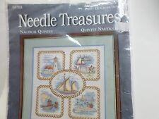 Needle Treasures Nautical Quintet Stamped Cross Stitch Kit Michael A. LeClair