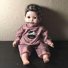 Creepy Eerie Ghost Gothic Baby Girl Reborn Doll Ollia Ooak Macabre Spooky