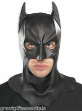 BATMAN MASK Cowl Adult Mens Full Overhead Dark Knight Rises Costume Accessory