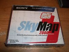 Sony SkyMap 2000 CD ROM Software US Mapping Suite WIN 95/98 Street Routing NEW