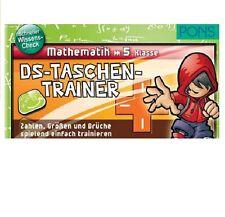 PONS DS-Taschentrainer Mathematik 5. Klasse - Zahlen, Größen & Brüche, NEU