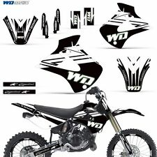 Graphic Kit Kawasaki KX 85/100 Dirt Bike MX Motocross KX85 KX100 2001-2013 WD