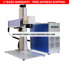 30W Portable Fiber Laser Marking Machine Engraver / Marker Metal Engraving