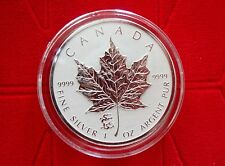 2012 CANADA $5 MAPLE LEAF COIN - Dragon Privy - UNC 1 OZ 99.99% Silver - Proof