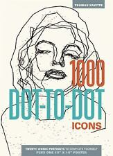 1000 Dot-To-Dot: Icons by Thomas Pavitte (2014, Paperback)