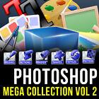 PHOTOSHOP (CS,CS2, CS3,CS4, CS5, CS6, CC) MEGA (ULTRA) GRAPHIC DESIGN PACK VOL 2