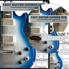 EASY GUITAR CHORDS DVD Rhythms + Progressions Every Key