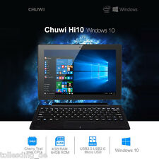 "Chuwi Hi10 10.1"" Tablet PC with Keyboard Windows 10 + Android 4GB+64GB Ultrabook"