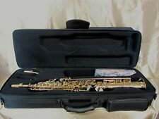 P.MAURIAT SYSTEM 76 SOPRANO SAXOPHONE GOLD LACQUER