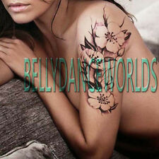 HIGH QUALITY REALISTIC FLOWER TEMPORARY TATTOO ARM LEG BACK SHOULDER ART STICKER