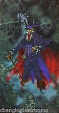 Alquimia Oscuro gótico Calaveras Esqueletos Reaper magistus 100% Algodón, Toalla De Playa