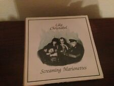 "SCREAMING MARIONETTES - LIKE CHRISTABEL 7"" SINGLE UK GOTH ROCK"