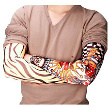 6 Pcs in Set Temporary Fake Slip On Tattoo Arm Sleeves Kit Outdoor Sports