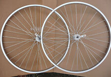 27x1 1/4 Alloy Bicycle Wheelset Front & Rear Wheels Bike Cycle NEW Quick Release