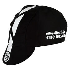 Pace Sportswear Traditional One Less Car Cycling Cap Black