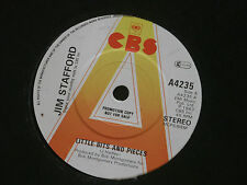 "Jim Stafford ‎– Little Bits And Pieces   PROMO  7""   EX SHOP"