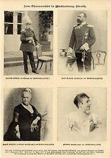 Zum Thronwechsel in Mecklenburg-Strelitz * Historical Memorabilia von 1904