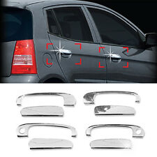 Chrome Door Catch Handle Molding Cover Garnish for KIA 2008 2009 2010 Picanto