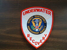 NEW Quincy Mass Volunteer Underwater Search & Recovery Dive Team Shoulder Patch