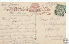 Genealogy Postcard - Family History - Bours or Rours - Stepney - London BH4643