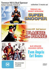 Terrence Hill and Bud Spencer Action Comedy Triple Pac . - DVD - NEW Region Free