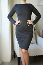 TOM FORD GREY JERSEY DRESS IT 42 UK 10