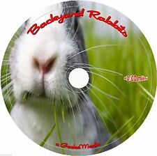 Breeding Backyard Bunnies and Rabbits 15 Books 36 Guides and Hutch Plans on cd
