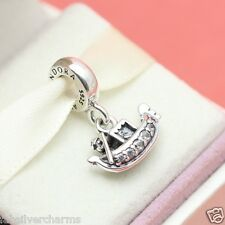 * New! Authentic Pandora Gondola 791143CZ Venice Italy