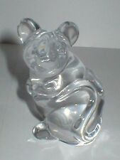 DAUM FRANCE GLASS MOUSE PAPERWEIGHT FIGURE