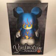 "DISNEY VINYLMATION URBAN 4 FLAMES 9"" NEW SOLD OUT"