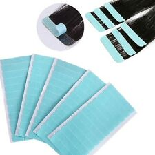 12 Tabs Super Double Sided Tape Weft Tape-in Hair Extension Replacement Set