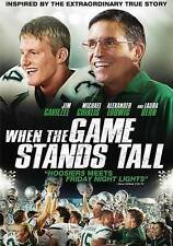 When the Game Stands Tall (DVD) (in blue ray slipcover) free shipping