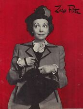 "Zasu Pitts ""RAMSHACKLE INN"" Joe Downing / Harlan Briggs 1944 Souvenir Program"