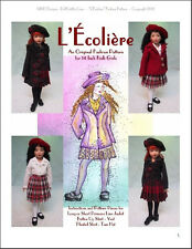 """L'Écolière"" Fashion Pattern for 14"" Kish Chrysalis"
