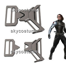 Captain America 2 : The Winter Soldier Bucky Barnes Metal Belt Buckle